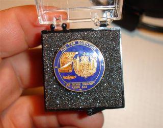USS George Bancroft Military U s N Navy Enamel Lapel Pin SSBN 643