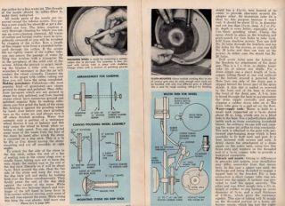 Make Your Own Gemsone Grinder Polisher Machine Plans lapidary