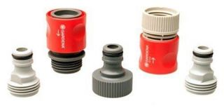 Gardena 36004 Garden Hose Quick Connector Starter Set