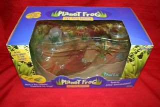 Milton Live Frog Fish Habitat Aquatic pond aquarium NEW no frog coupon