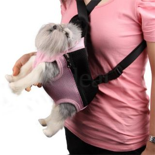 Pet Dog Travel Net Front Carrier Bag Backpack Rucksack