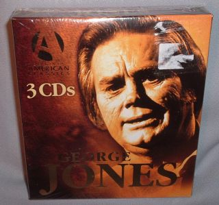 CD George Jones Original American Classics 3 CD Set New Mint SEALED