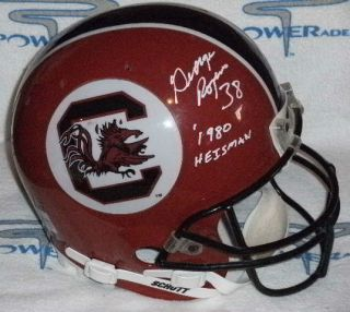 GEORGE ROGERS SIGNED SOUTH CAROLINA GAMECOCKS THROWBACK FULLSIZE