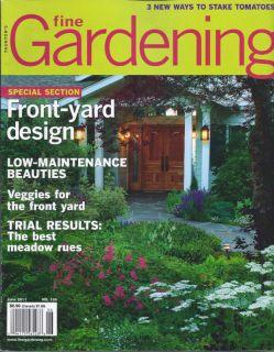 Fine Gardening Magazine Front Yard Design Meadow Rues