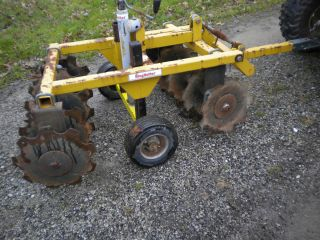 King Kutter Garden Tractor Wheel Disc Plow Cultivator Food Plot Deer