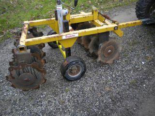 King Kutter Garden Tractor Wheel Disc Plow Cultivator Food Plot Deer