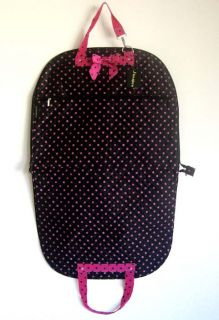 37 Garment Bag Clothes Cover Travel Luggage Pink Dots