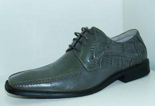 Stacy Adams Fulbright Gray Mens Oxford Dress Shoe