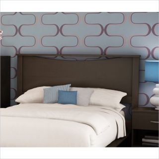 South Shore Back Bay Full Queen Dark Chocolate Headboard
