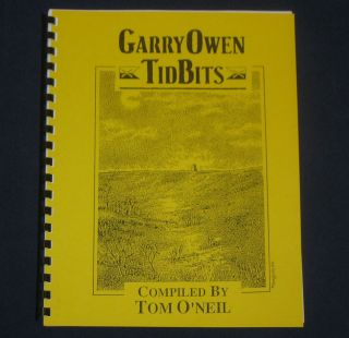 CUSTER 7th Cavalry GARRY OWEN Tid Bits #6 INDIAN WARS Military History