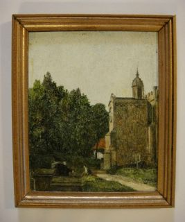 English Painter, George Browns Church Porch East Bergholt after John