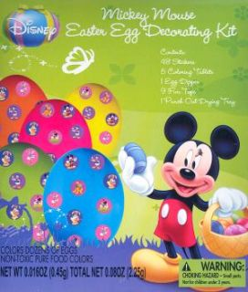 Disney Mickey Mouse Easter Egg Decorating Dye Kit