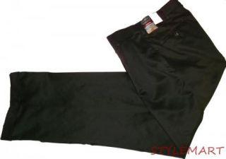 New Mens George Brown Pleated Cuffed Dress Pants Size 30x30
