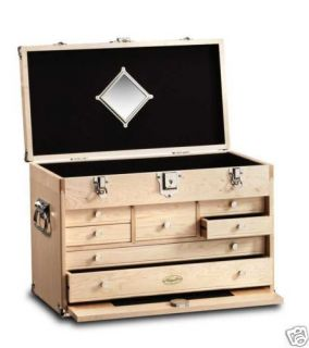 Gerstner 41D Solid Maple Classic Tool Chest New