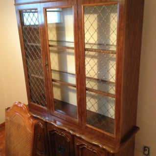 Estate Sale Furniture China Cabinet Cupboard Possible Antique