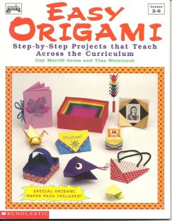 Easy Origami by Gary M Gross Tina Weintraub 1995 Paperback Grades 2 6