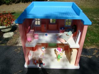 Sized Doll Dream House Barbie Mansion Furniture Lot Pick Up IL