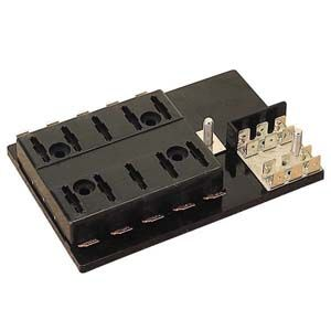 ATC Style Fuse Block with 14 Terminals and Ground Block