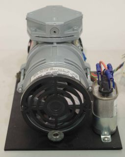 about the item gast oil less vacuum pump model moa p129 hb this