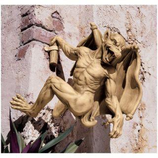 Gaston the Gothic Gargoyle Climber Sculpture Medieval European Design