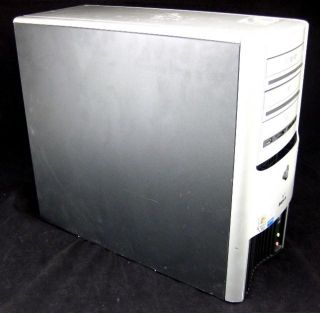 Gateway 835gm Desktop PC Intel Pentium D 2 8GHz 1GB RAM 80GB Hard