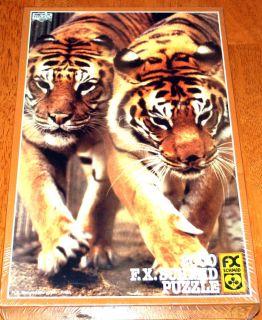 Bengal Tiger Pair FX Schmid 2000pcs Jigsaw Puzzle (New 36x25 inch