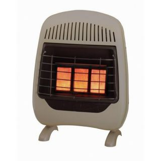 Comforts 5 Plaque Infrared Natural Gas Space Heater 30 000 BTU