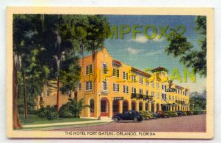 The Hotel Fort Gatlin Orlando FLORIDA LINEN
