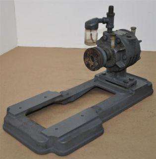 gast rotary vane vacuum pump with motor mount
