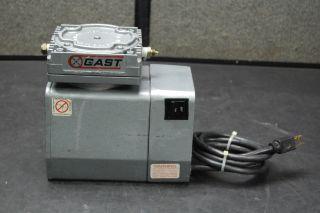 gast doa v112 aa vacuum pump 115vac this gast doa v112 aa vacuum