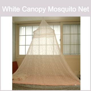 Color Canopy Mosquito net Hoop Lace Bed Insect Bug Protect Netting NEW