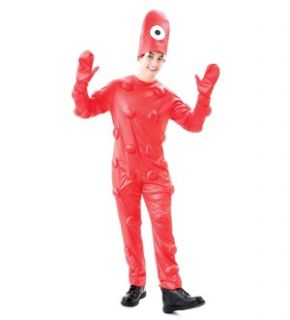 Yo Gabba Gabba Muno Costume Adult Large 46 48 New