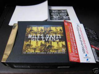 Miles Davis Gil Evans Complete Japan Gold 6 CD Box OBI