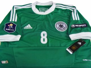 New OFFICIAL 2012 13 GERMANY SOCCER JERSEY EURO AWAY S M L XL