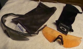 Vintage Used Oakley M Frame Sunglasses with 2 Lenses