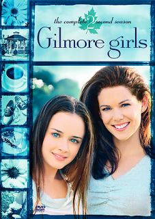 Gilmore Girls The Complete Second Season DVD 2004 6 Disc Set