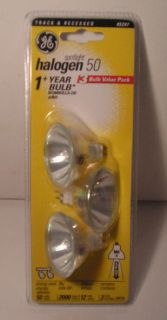 GE Electric Edison Halogen Spot Light Bulb 50 Watts AJ$