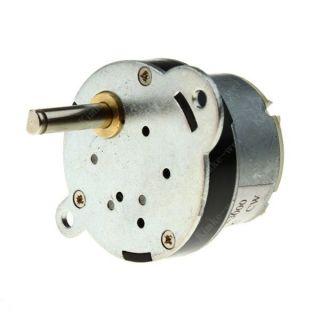 12v 3rpm torque gear box motor new