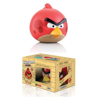 Gear4 Genuine Angry Birds Red Bird Speaker Phone 4S iPod Touch 4