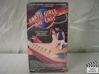 Earth Girls Are Easy VHS Geena Davis Jeff Goldblum 028485153035