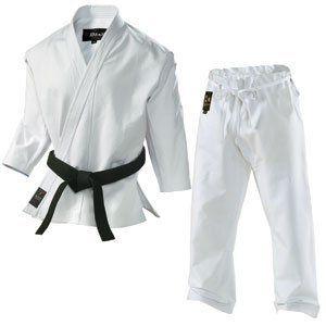 Tokaido Karate Gi Kumo Uniform Jacket Trousers with Drawstring White