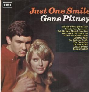 Gene Pitney Just One Smile LP 12 Track Mono Pressing Black Silver