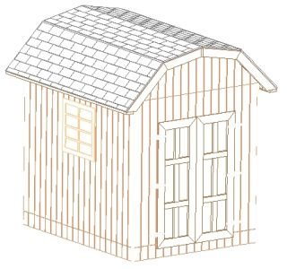 Kelana free 10 x12 shed plans cd universe must see for Free saltbox shed plans