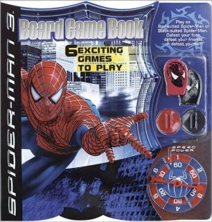 Marvel Spider Man 3 Board Game Book 6 Exciting Game to Play for Kids 3