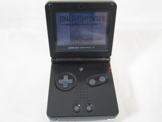 Nintendo Game Boy Advance SP Console AGS 001 Gameboy Onyx Black 031040