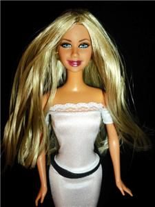 Gisele Bundchen Celebrity Barbie Doll OOAK Model Dakotas Song