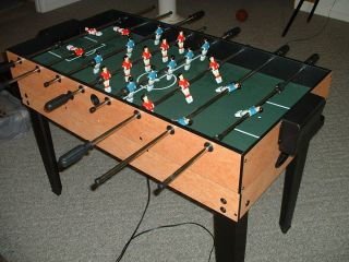 Foosball Air Hockey Ping Pong Combo Table
