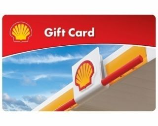 25 Shell Gift Card