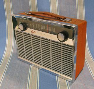 GENERAL ELECTRIC P 780 TRANSISTOR RADIO WORKING 1st GE Dx SUPER RADIO