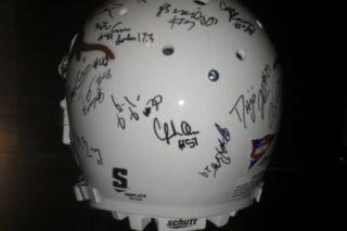 2012 Texas Longhorns Team Signed Football Helmet Certificate Proof Joe